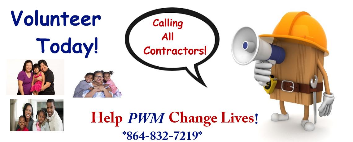 Contractors Change Lives
